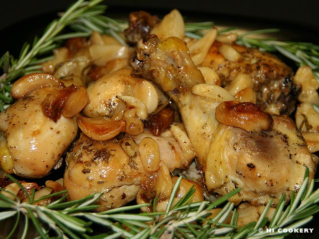 40-Clove Garlic Chicken