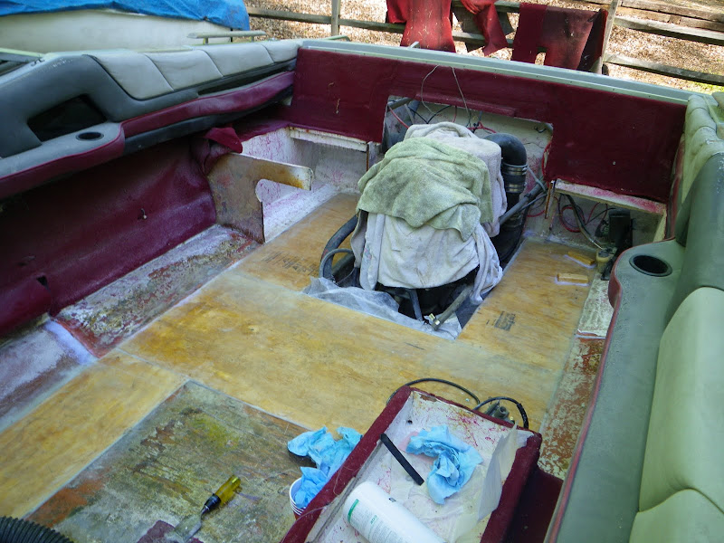 1988 Maxum 2000SR Partial Deck replacement Page 1