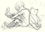 Christopher Robin and Pooh Bear