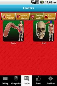 3D Body Anatomy Doctor LITE screenshot 2