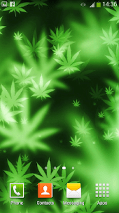 Falling Weed Live Wallpaper Download Weed Live Wallpaper Android Apps On Google Play