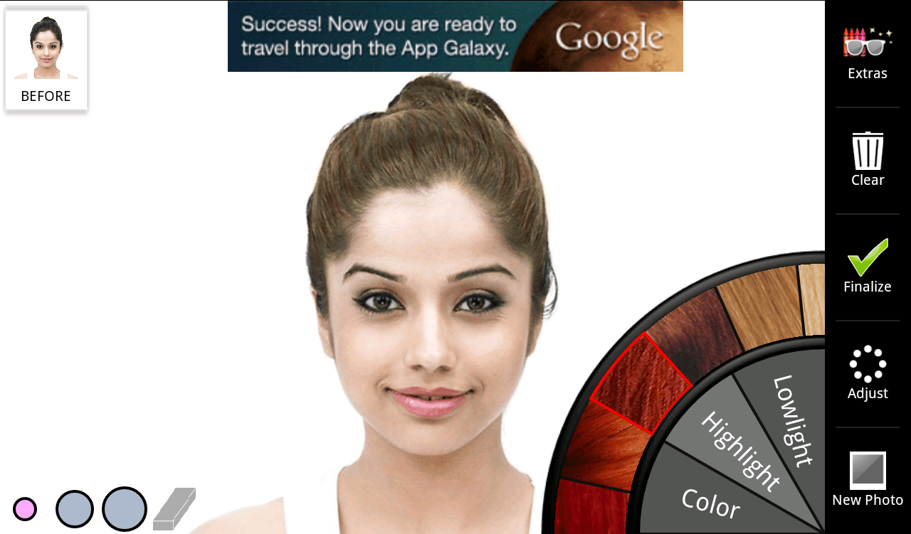 Hair Changing Color App Image Collections Hair Coloring Ideas - Hairstyle change app