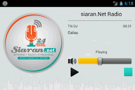 siaran.Net Radio screenshot 1