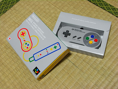 Wii Super Famicom Classic Controller スーパーファミコン クラシックコント�ーラー