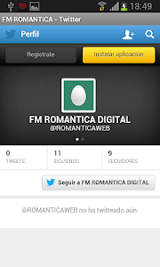 Radio Romantica screenshot 2