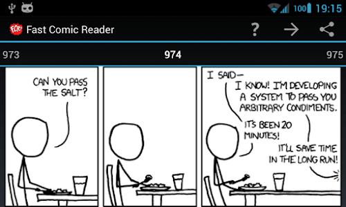 Xkcd plugin for FCR screenshot 0