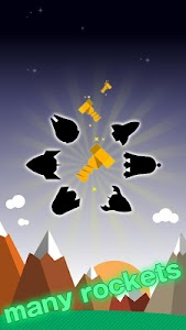 FLAT-galaxy- space travel game screenshot 1