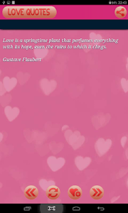 Romantic and Love Quotes screenshot 3