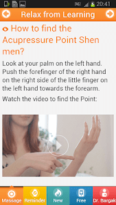 Relax NOW With Acupressure. screenshot 1