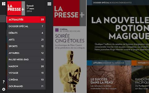 La Presse+ screenshot 9