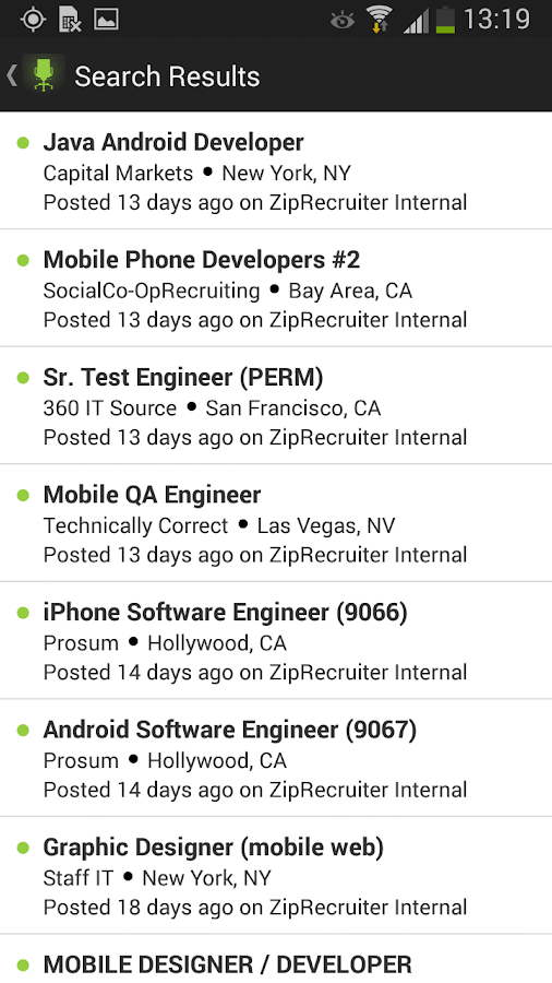 Job Search by ZipRecruiter  Android Apps on Google Play