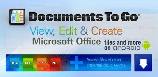 Docs To Go - Free Office Suite captures d'écran