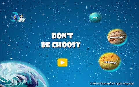 Don't be Choosy screenshot 3