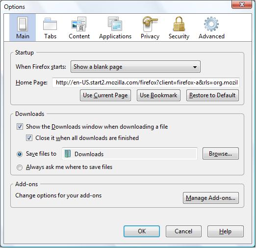 Firefox proxy wpad