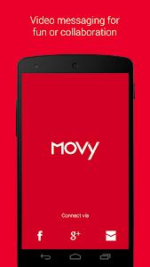 Movy - Video Messaging screenshot 0