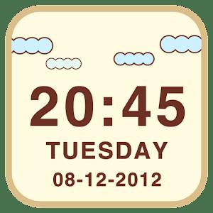 LiveCloud Clock Widget