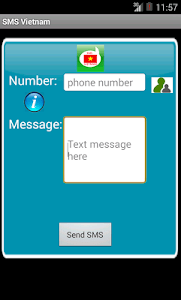 Free SMS Vietnam screenshot 0