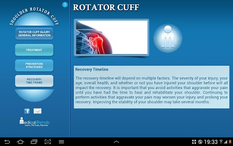 Rotator Cuff Tablet App screenshot 5