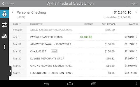 Cy-Fair FCU Mobile Banking screenshot 11