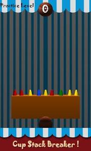 Cup Stack Breaker screenshot 1