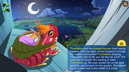 Thumbelina Kids StoryBook screenshot 8