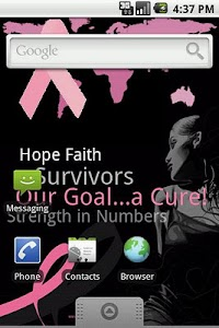 English - Breast Cancer App screenshot 1
