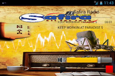 Safira Radio screenshot 2