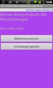 Physiokompend. Test Orthochiru screenshot 0