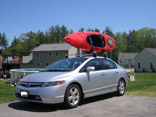 good roof rack for kayak 8th generation honda civic forum