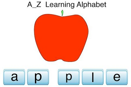 A to Z Learning Alphabet screenshot 0
