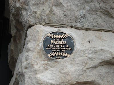Griffey plaque