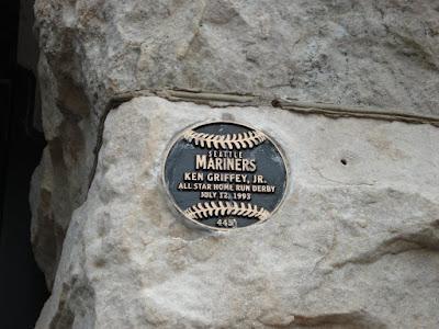 Griffey plaque