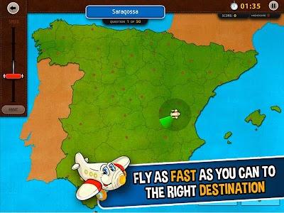 GeoFlight Spain: Geography screenshot 5