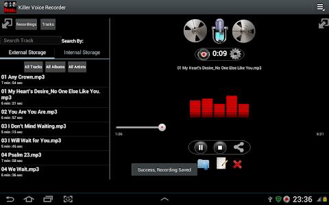 Killer Voice Recorder Pro screenshot 9