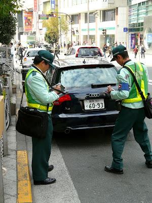 Shinjuku Oteros en acción