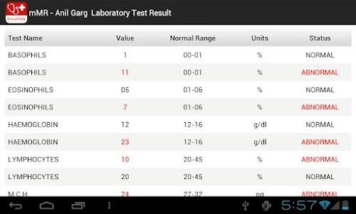 mMR (mobile Medical Records) screenshot 4