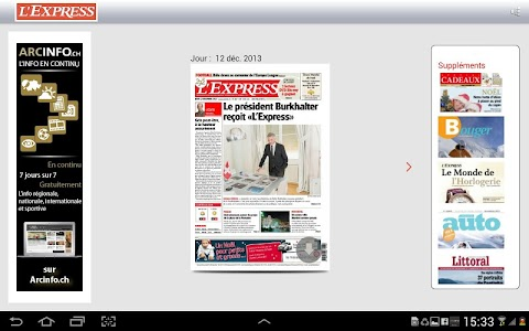 L'Express journal screenshot 6