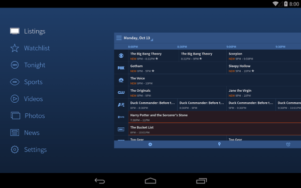 TV Guide Android Apps on Google Play