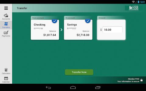 Huntington State Bank Tablet screenshot 8
