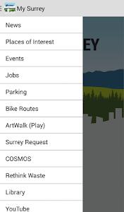 MySurrey screenshot 1