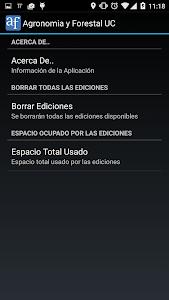 Agronomía y Forestal UC screenshot 4
