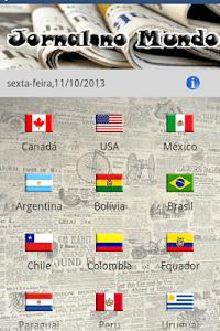 Jornal no Mundo screenshot 1