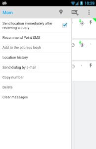 Point SMS screenshot 1