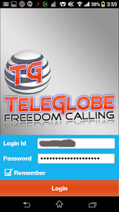 TeleGlobe Freedom VOIP screenshot 0