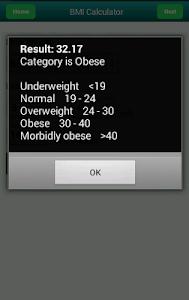 Body mass index Calculator screenshot 3