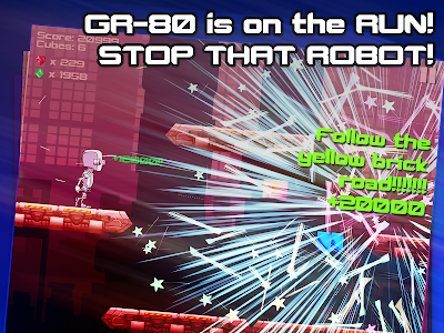 Robot Runner: Ballad of GR-80 screenshot 7