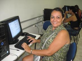 Rosa Amélia, coordenadora do NTE-ITZ