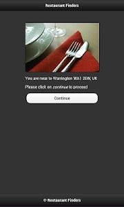 Restaurant Finder screenshot 0