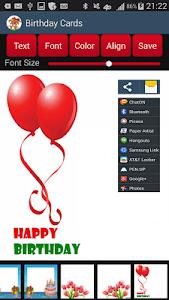 Birthday Cards screenshot 4