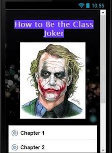 How to Be the Class joker screenshot 1